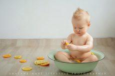 Fruit bath session